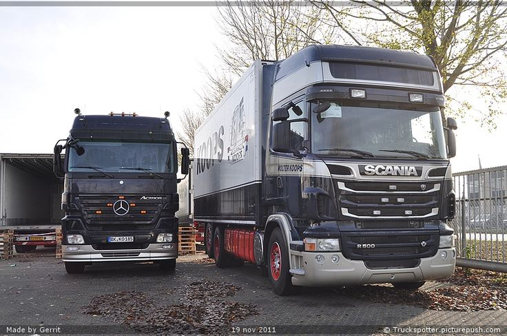 Scania truck – Wolter Koops