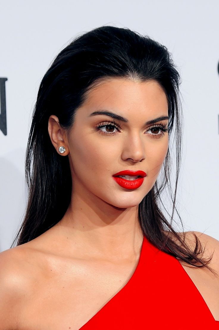 Kendall at the 2015 amfAR New York Gala in New York City