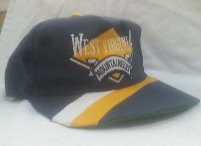 #WVU West Virginia #Mountaineers #Vintage #Snapback Hat Ball Cap #College #Football