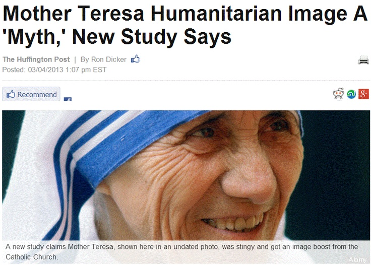 the great humanitarian influence of mother theresa to the world Watch video  biographycom examines the life and works of mother teresa, founder of the order of the missionaries of charity who was declared a saint in 2016.