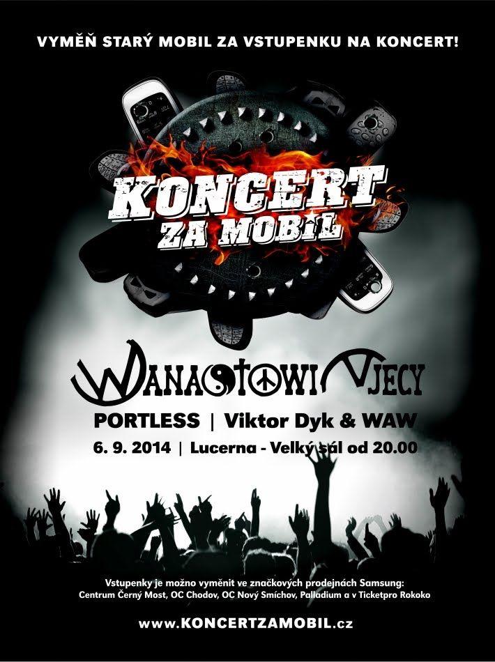 Koncert za mobil, 6.9. 2014 v Lucerně