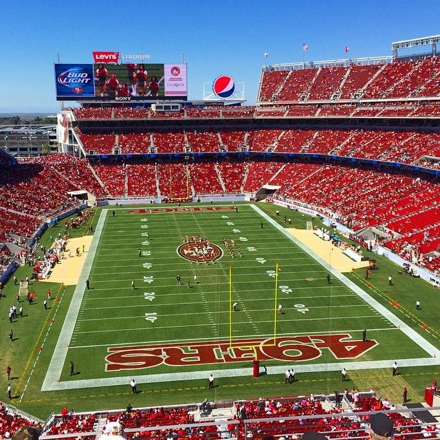 Levi's® Stadium in Santa Clara, CA gone be there soon!!!