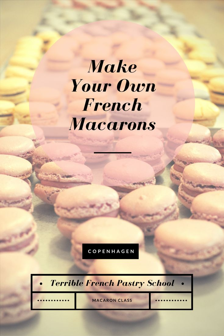 Making Macarons in Copenhagen with a Terrible French Pastry Class | oregon girl around the world