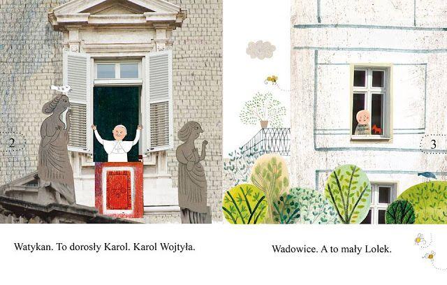 polska ilustracja dla dzieci: Nowość - Wielki Karol i mały Lolek