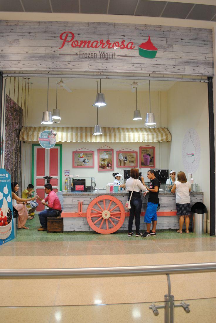 ¿Ya conoces nuestro punto de venta en el centro comercial La Estación? Visítanos!  #pomarrosafrozenyogurt #frozenyogurt #refescante #nutritivo #delicioso