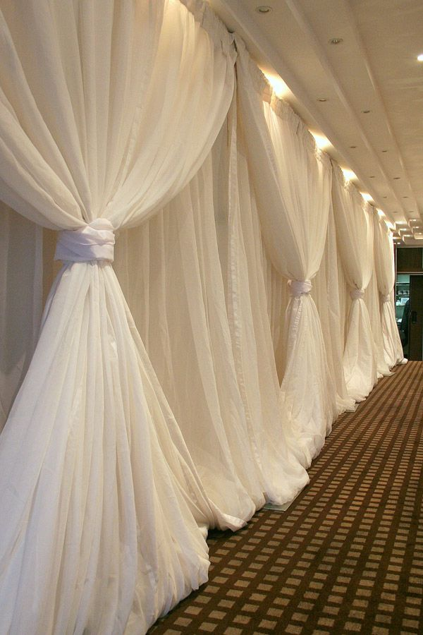 1000 Images About Wedding Drapery On Pinterest