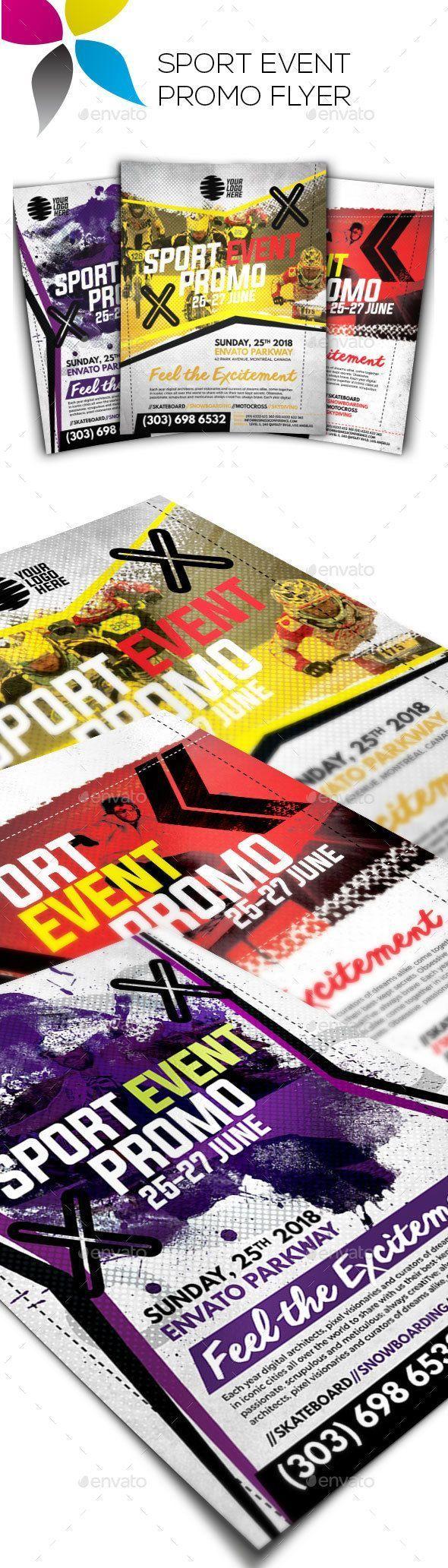 Sport Event Promo Flyer