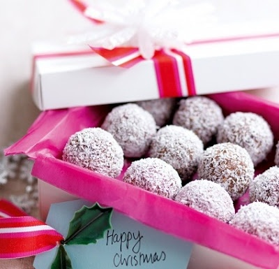 Praline cocco e cioccolato