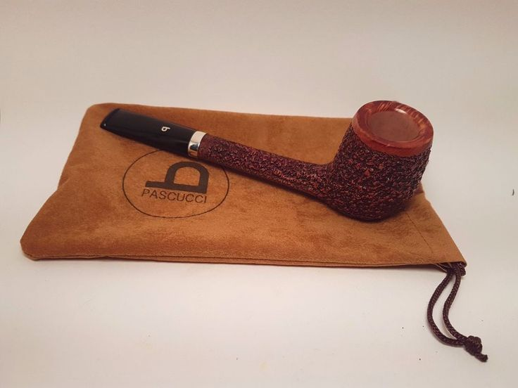 PIPA ITALIANA RUSTICATA PASCUCCI, SMOKING BRIAR PIPE, PFEIFE
