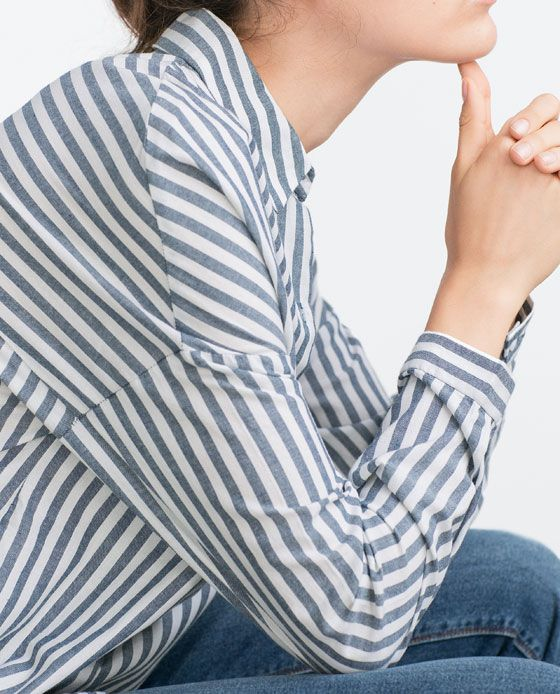 Image 5 of STRIPED SHIRT from Zara