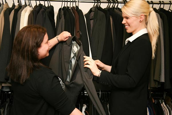 Dress for Success charity. Helping women to find work.  Donations of business clothes, shoes and handbags.  Parramatta NSW Australia