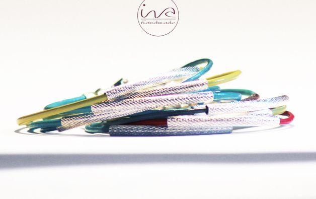 elegancja w kolorze - ivahandmade - Bransoletki