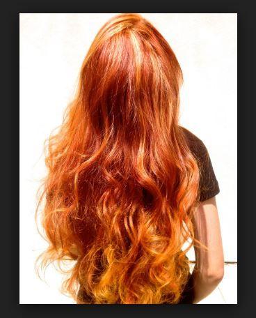 Bakır Saç Rengi Modeli Tavsiyeleri