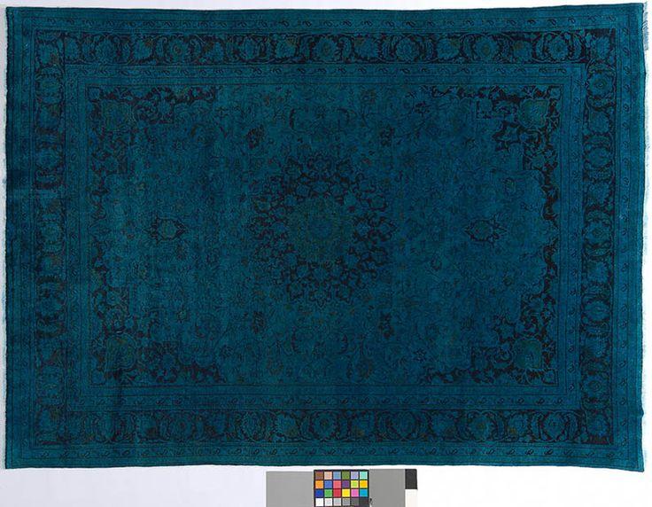 Orientteppich modern blau  67 besten Teppich, Orientteppich, Vintage Teppich, gefärbt, KISKAN ...