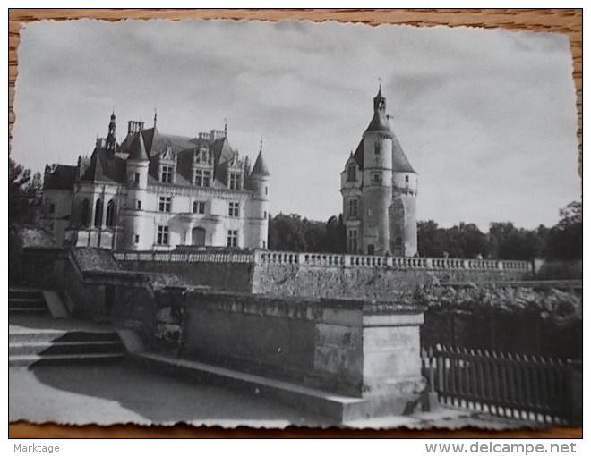 Castello Azay Lerideau nella Loira Francia, foto 7X10 anni 1950/55 originale - Delcampe.it