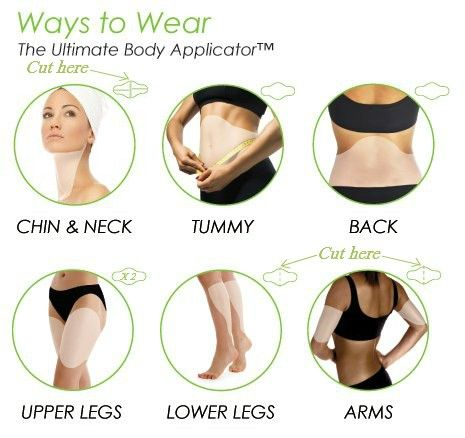 Wear our Skinny Wrap anywhere from your chin to your toes! What part of your body will YOU start with? Call or text Sue 315-420-0966 or Casey 585-880-7342
