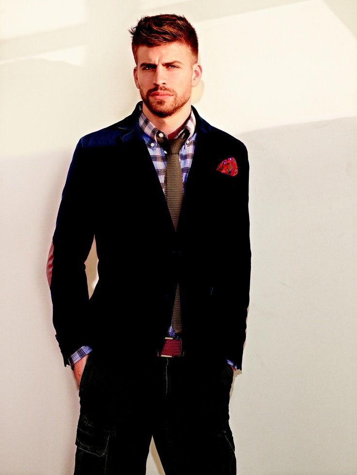Gerard Piqué for H.E. by MANGO - Classic Mix look SS12