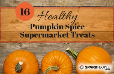 It's pumpkin-spice everything time, but you don't have to go for a donut or latte to enjoy this seasonal favorite. You can find these 16 healthy treats at your local grocery store.