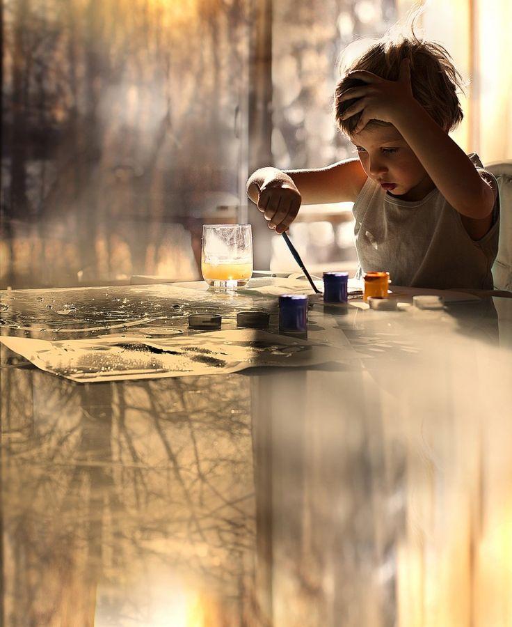 Elena Shumilova - love the light, reflections and the moment caught!