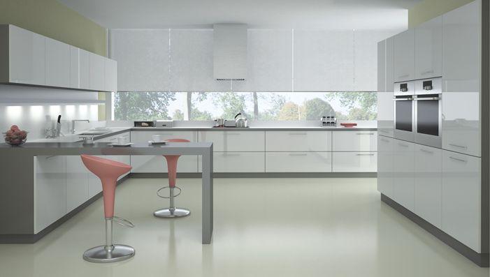 Beyaz ankastre mutfak modelleri 2016 - http://www.dekorasyonadresi.com/beyaz-ankastre-mutfak-modelleri-2016/