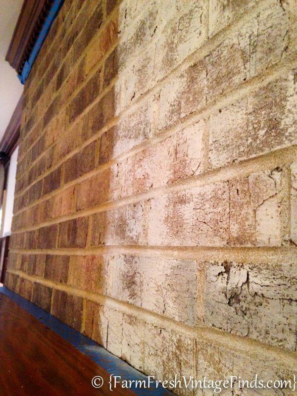 Old white Annie Sloan chalk paint - 50/50 white to water w/ brush & rag…