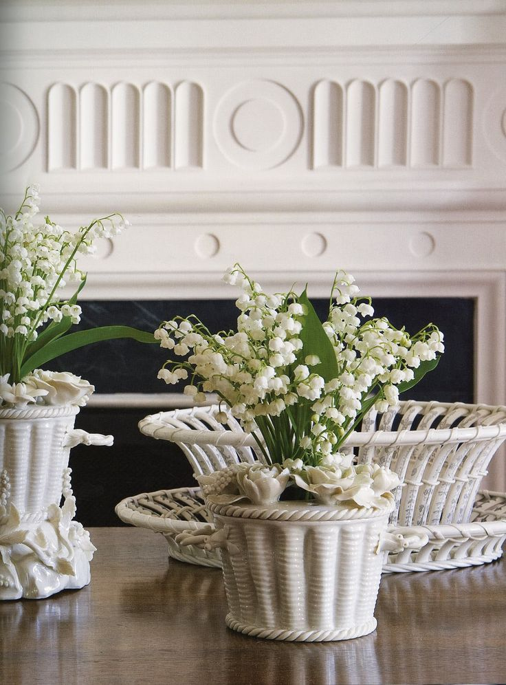 Happy Lily of the Valley Day | Pinterest | White vases, Flowers and Planters