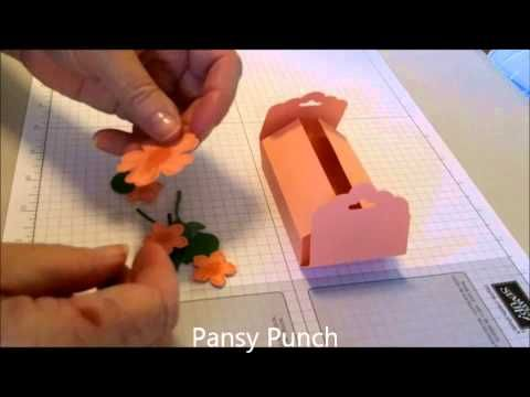 ▶ Petite Petals Box with Scallop Tag Topper Punch - YouTube A great visual tutorial from Libby!
