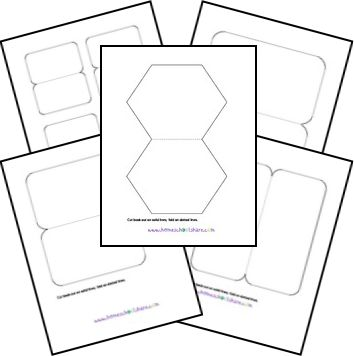 Free Lapbooks and Free Templates, Foldables, Printables, Make Your Own Lapbook