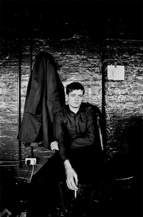 Ian Curtis du groupe Joy Division