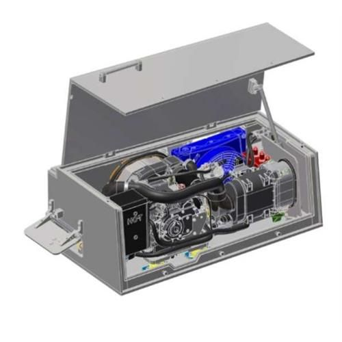 10 kW 28 Vdc Auxilary Power Unit (Apu) For Military and Commercial Vehicles