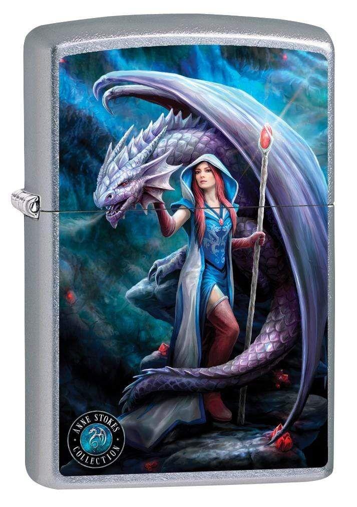 Zippo Lighter Anne Stokes Grim Reaper High Polish Chrome 78387 Anne Stokes Art Anne Stokes Dragon Gothic Fantasy Art