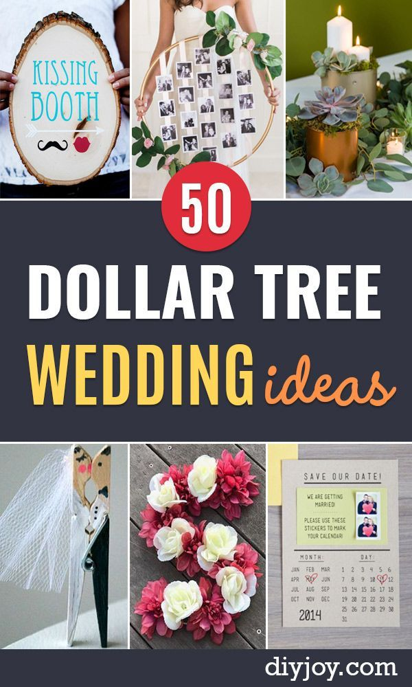 Cheap Diy Wedding Decor Ideas 50 Dollar Tree Wedding