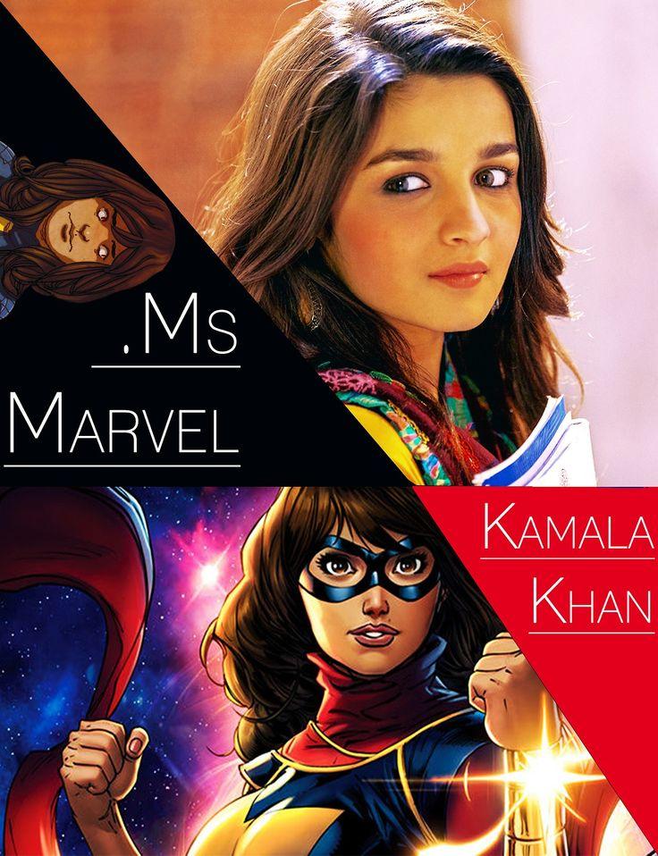 marvel fancast alia bhatt as kamala khan inhumans