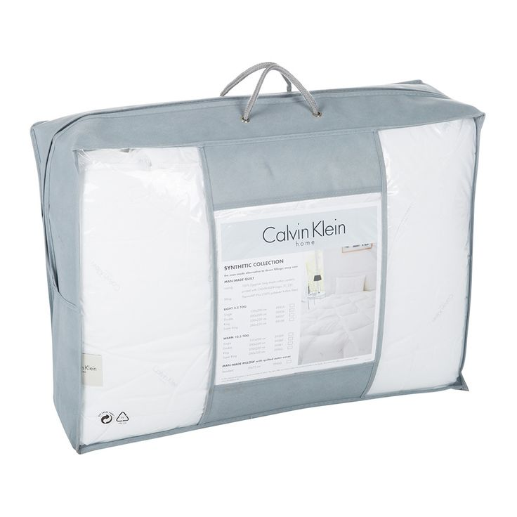 Discover the Calvin Klein Man Made Light Duvet - Double at Amara