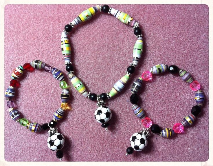Soccer Bracelets