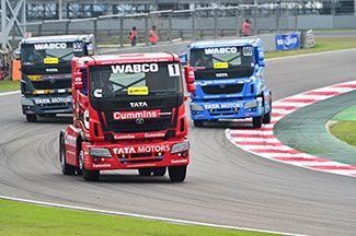 Tata Motors Season III of the T1 PRIMA TRUCK RACING CHAMPIONSHIP 2016, on March 20, 2016. Venue: Buddh International Circuit (BIC), Greater Noida #TruckRacing2016 #TataMotors