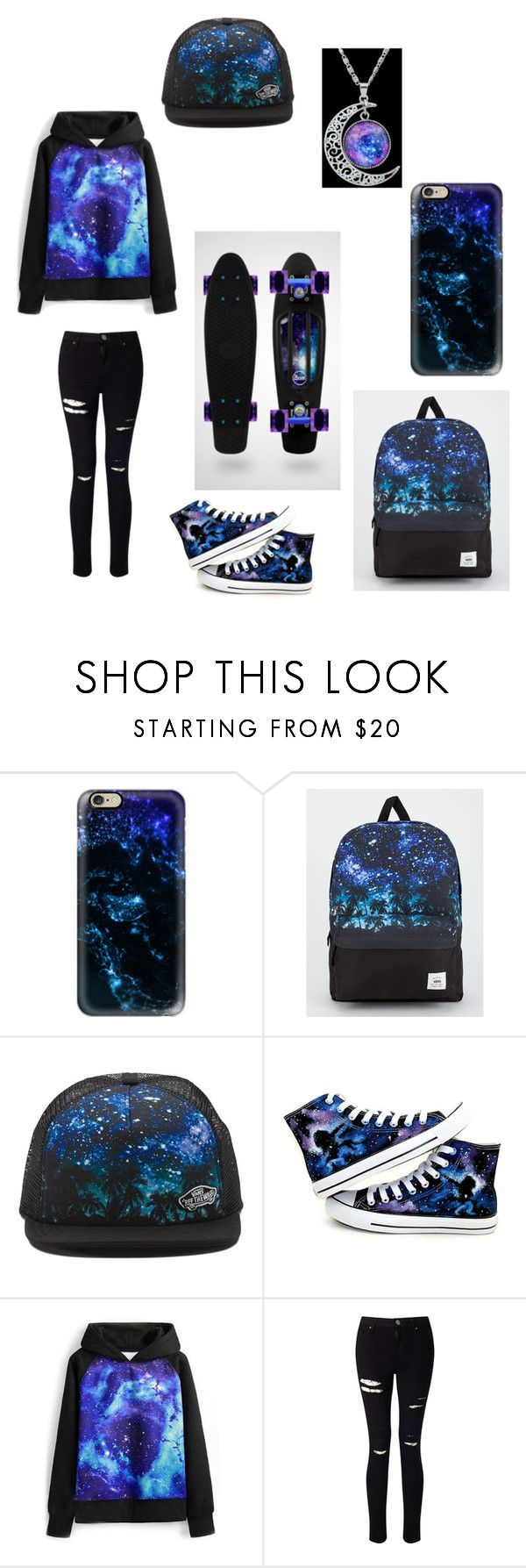 """Untitled #83"" by darksoul7 ❤ liked on Polyvore featuring Casetify, Vans, Converse, WithChic and Miss Selfridge"