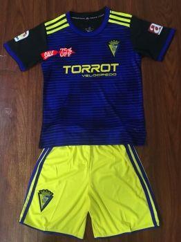 2018-19 Cheap Youth Kit Cadiz Away Replica Soccer Kids Suit  CFC928 ... b751e7e145f4