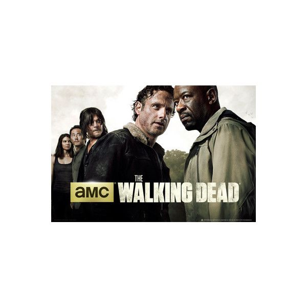 The Walking Dead Season 6 Poster ($7.95) ❤ liked on Polyvore featuring home, home decor and wall art