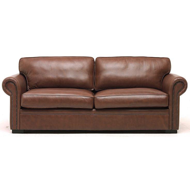 Online Sofa Store: Duke 3 Seater Leather Sofa