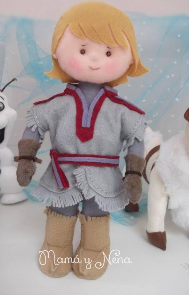 Kristoff Frozen Para decoração de Festa Frozen www.mamaynena.com.br