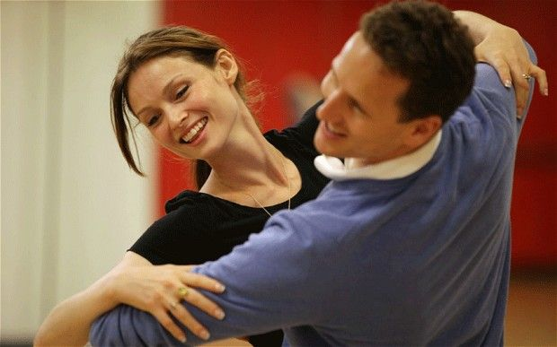 Strictly Come Dancing: Sophie Ellis Bextor and Brendan Cole.