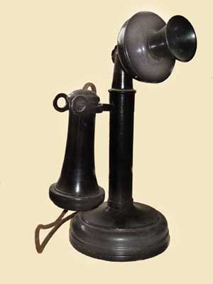 Kellogg Switchboard and Supply Company    Candlestick telephone.  Like our first phone.  19W2