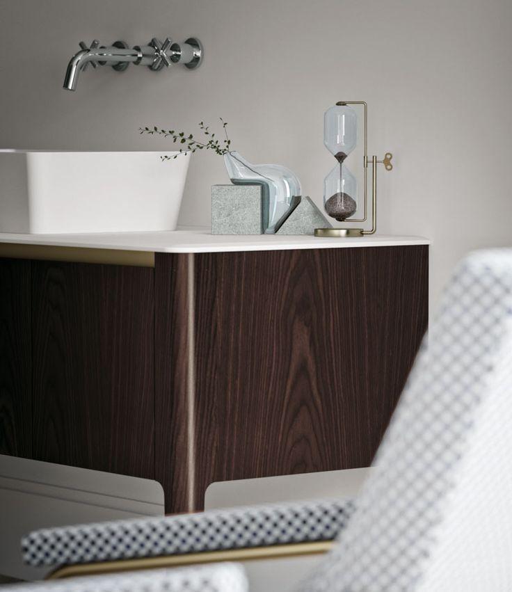 Arredobagno ART by Puntotre #home #bagno #arredobagno #bathroom #interiors #design #artdeco