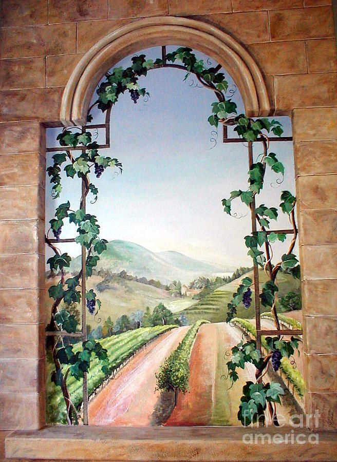 17 Best Images About Vineyards Amp Wine Country Art On