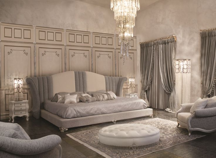 Upholstered fabric king size bed RE SOLE Éclectique - Donna Mantellassi Collection by Mantellassi 1926 from archi products