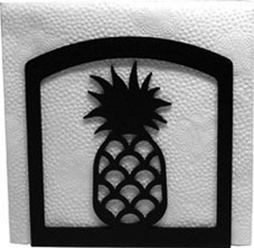 Wrought Iron Pineapple Napkin Holder
