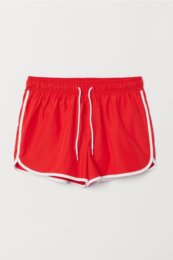 5907676825 H&M Short Swim Shorts - Blue in 2019 | Clothing Inspiration | Trunks ...