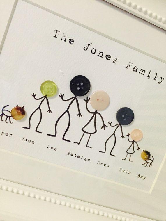 Photo de famille de bouton