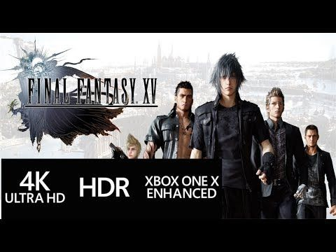 Final Fantasy 15 PS4 PRO vs XBOX ONE X Images & FF 15 Xbox One X Gameplay